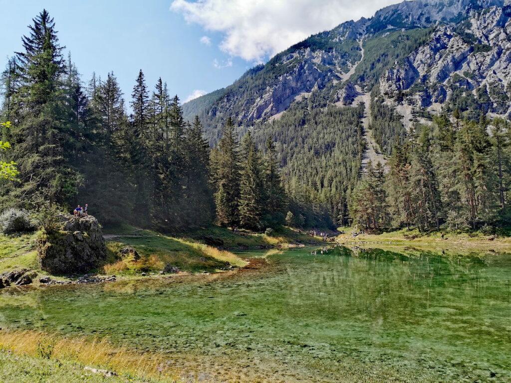 Naturidyll Grüner See - in echt noch viel schöner als auf den Fotos