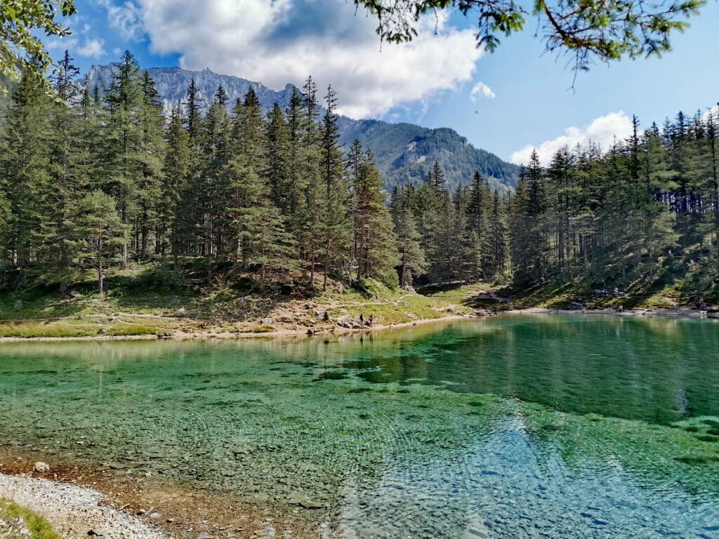 Naturidyll Grüner See in der Steiermark